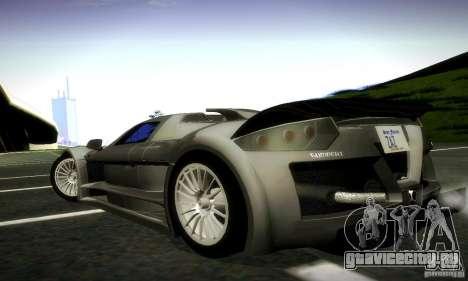 Gumpert Apollо для GTA San Andreas вид слева