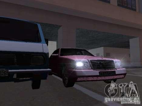 Mercedes-Benz S600 W140 v 2.0 для GTA San Andreas салон