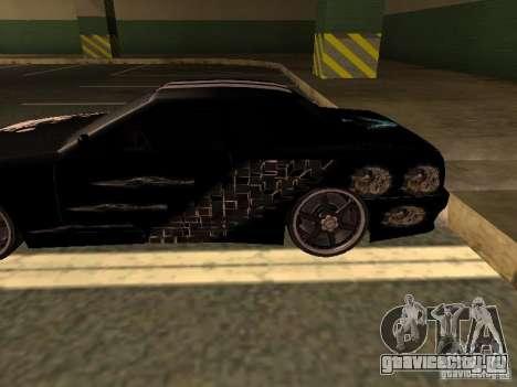 2-ой винил для Elegy by Drago для GTA San Andreas вид слева