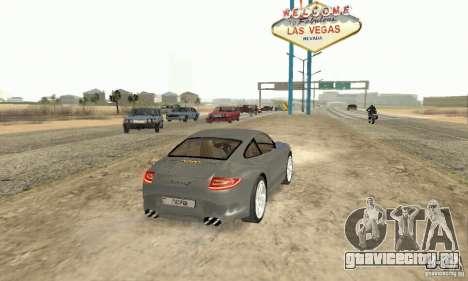 Porsche Carrera S 2009 для GTA San Andreas вид слева