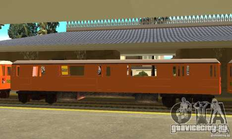 Liberty City Train CP для GTA San Andreas вид слева