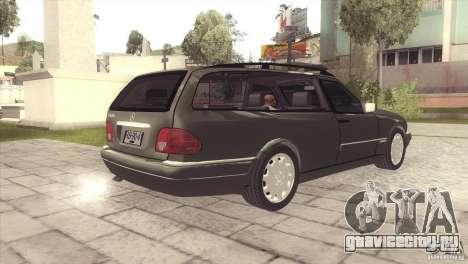 Mercedes-Benz E320 Funeral Hearse для GTA San Andreas вид справа
