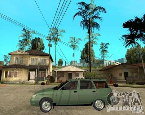 ВАЗ 2111 для GTA San Andreas вид сбоку