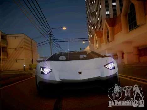 Lamborghini Aventador LP700-4 Roadstar для GTA San Andreas вид справа