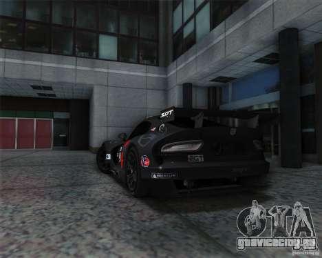 SRT Viper GTS-R V1.0 для GTA San Andreas вид справа