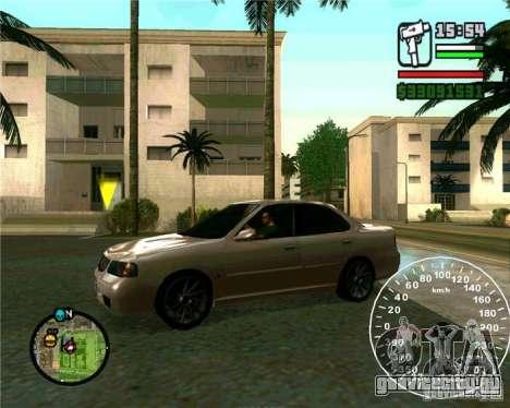 Nissan Sunny для GTA San Andreas вид слева