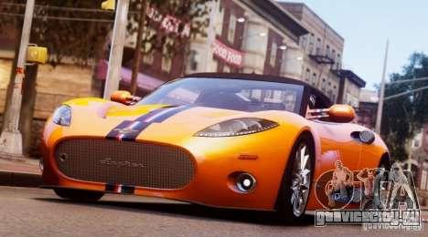 Spyker C8 Aileron Spyder Final для GTA 4