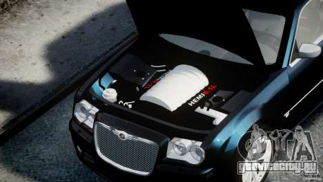 Chrysler 300C SRT8 для GTA 4 вид справа