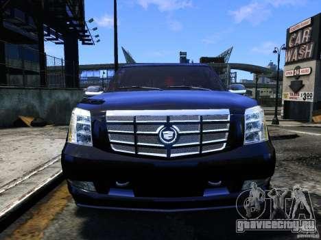 Cadillac Escalade v3 для GTA 4 вид сзади