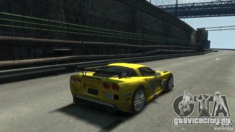 Chevrolet Corvette C6-R для GTA 4 вид слева