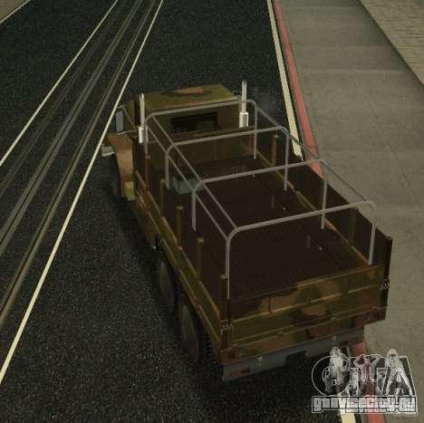 Sand Barracks HD для GTA San Andreas вид справа