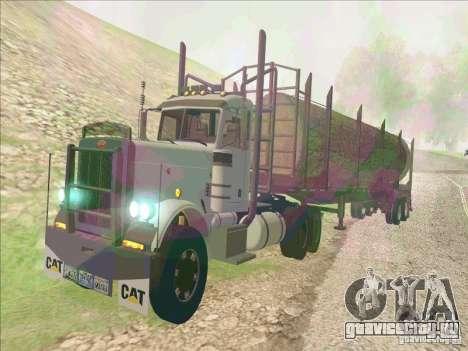 Peterbilt 379 для GTA San Andreas вид слева