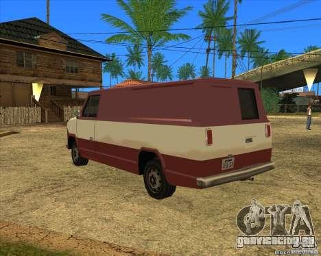 Transporter 1987 - GTA San Andreas Stories для GTA San Andreas вид слева