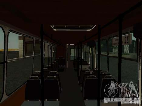 ЮМЗ Т2 для GTA San Andreas вид сзади слева