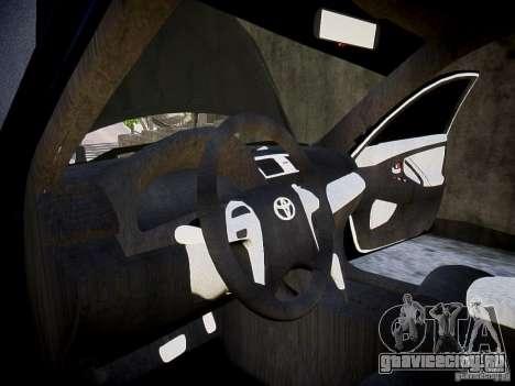 Toyota Camry для GTA 4 вид сзади