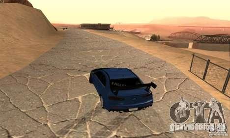 New Drift Zone для GTA San Andreas четвёртый скриншот