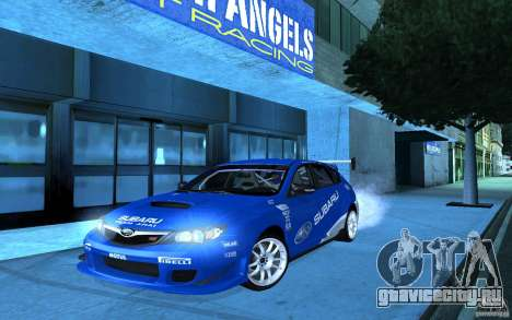 Subaru Impreza WRX STI 2008 Tunable для GTA San Andreas