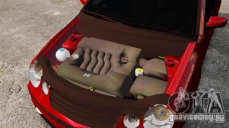 Volkswagen Polo Edit для GTA 4 вид изнутри
