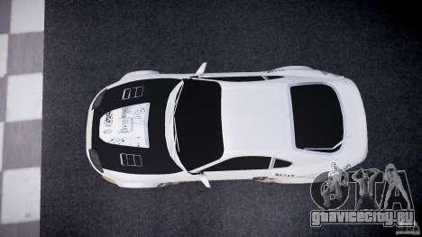 Toyota Supra ProStreet Style для GTA 4 вид справа