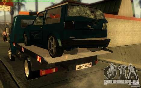 ГАЗель 3302-14 Эвакуатор для GTA San Andreas вид справа