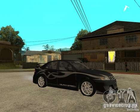 Saab 9-3 from GM Rally Вариант 1 для GTA San Andreas вид справа