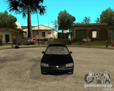 2003 Chevrolet Impala SS для GTA San Andreas вид сзади