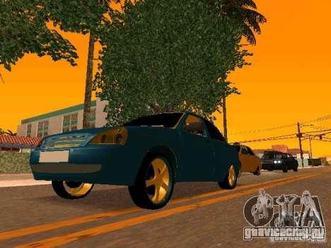 ВАЗ 2170 Приора Gold Edition для GTA San Andreas салон