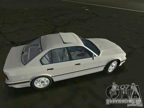 BMW 540i (E34) 1992 для GTA Vice City вид слева