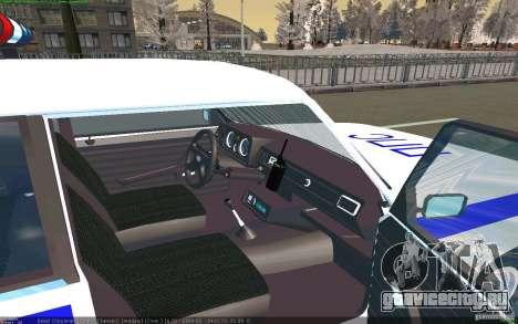 Ваз 2105 ППС Жигули для GTA San Andreas вид справа