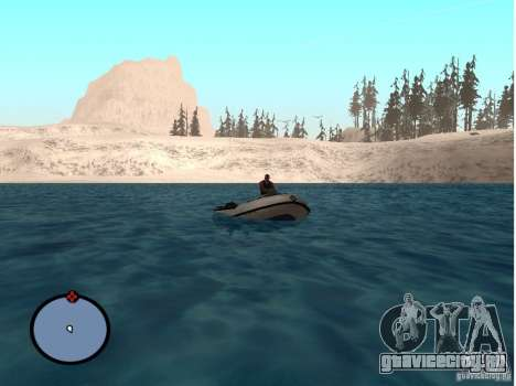Winter Mod для GTA San Andreas пятый скриншот