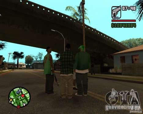 Подмога братков для GTA San Andreas четвёртый скриншот