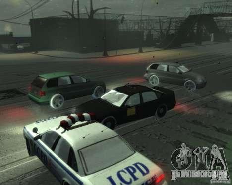 Winter Handling для GTA 4 третий скриншот