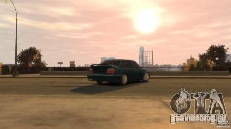 Daewoo Nexia Tuning для GTA 4 вид сзади