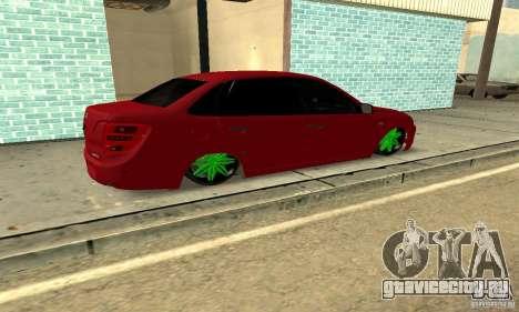 Lada Granta Dag Style для GTA San Andreas вид слева