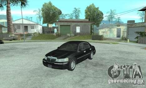 Lincoln Town Car 2002 для GTA San Andreas