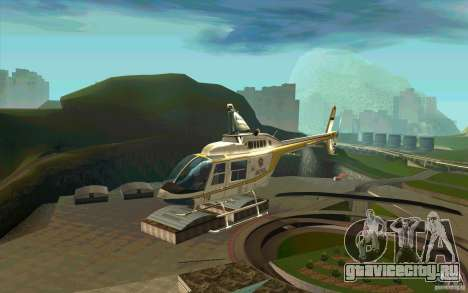 Bell 206 B Police texture4 для GTA San Andreas