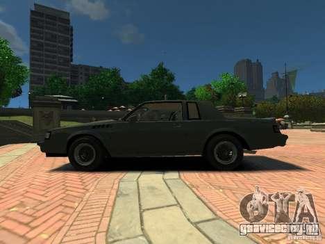 Buick Regal GNX для GTA 4 вид слева