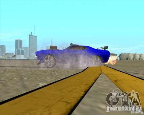 Plymouth Hemi Cuda из NFS Carbon для GTA San Andreas вид сбоку
