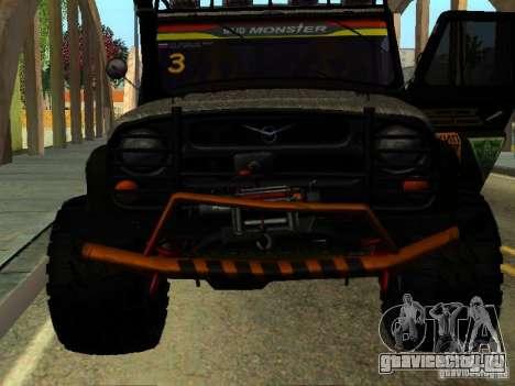 УАЗ 469 ТРИАЛ для GTA San Andreas вид справа