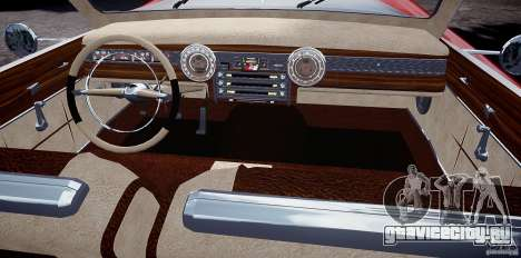 Buick Custom Copperhead 1950 для GTA 4 вид сзади