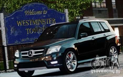 Mercedes-Benz GLK 320 CDI для GTA 4 вид справа