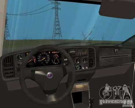Saab 900 Turbo 1989 v.1.2 для GTA San Andreas вид снизу
