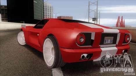 Bullet HD для GTA San Andreas вид слева
