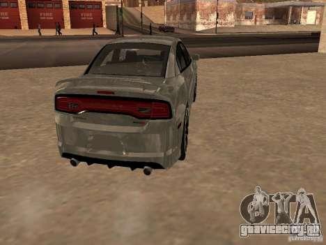 Dodge Charger SRT8 2011 V1.0 для GTA San Andreas вид справа