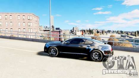 Bentley Continental SuperSports v2.5 для GTA 4 вид слева