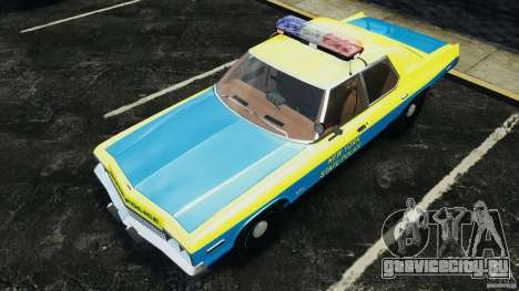 Dodge Monaco 1974 Police v1.0 [ELS] для GTA 4 двигатель