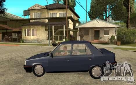 Renault 9 Mod 92 TXE для GTA San Andreas вид слева