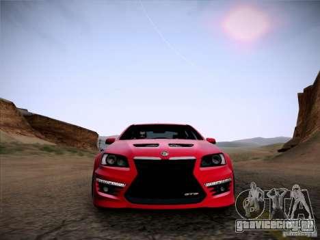 Holden HSV GTS для GTA San Andreas вид справа