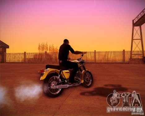 Triumph Bonneville для GTA San Andreas вид слева