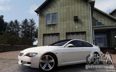 BMW M6 2010 v1.4 для GTA 4 вид сбоку